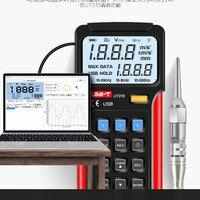 UNI T UT315 Digital Vibration Testers Vibration Acceleration Velocity Displacement Measurement USB Connect