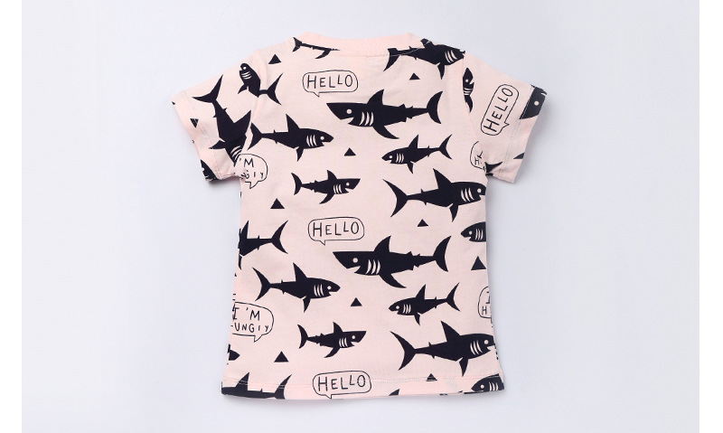 Oh Whale Short Sleeve T-Shirts Baby Girls