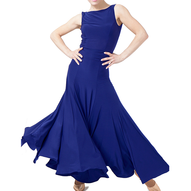 New Sexy Woman Tango Ballroom Dance Dresses Sale Waltz Dancing Wear Sleeveless Performance Dancing Dress Accept Customize Size