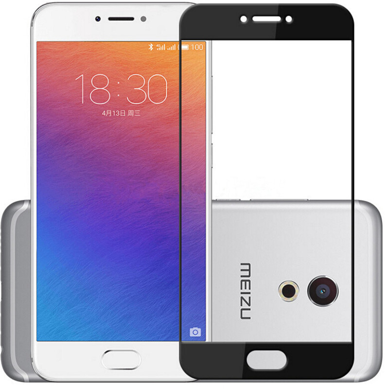CASPTM Full Cover Tempered Glass For <font><b>Meizu</b></font> M5S M5 M5C M6 Screen Protector M3 Note <font><b>M3S</b></font> <font><b>Mini</b></font> U10 Pro 6 7 Plus Protective Film image