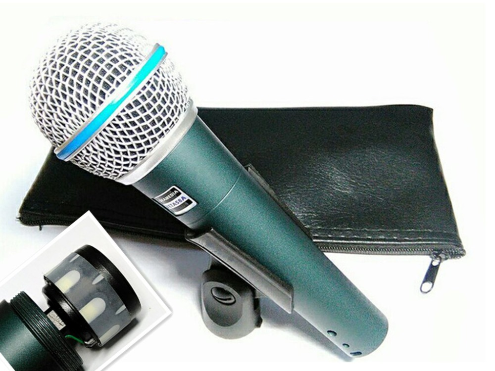 beta58a top quality beta 58 58a clear sound handheld wired karaoke microphone ideamedia in. Black Bedroom Furniture Sets. Home Design Ideas