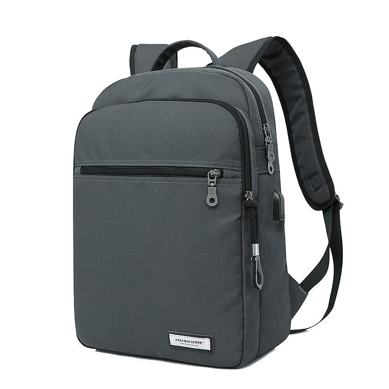 0033dcf7774 External USB Charge Laptop Bag Backpack 14 Inch Business Travel Daypacks  waterproof Rucksacks School bags Mochila Free Gift