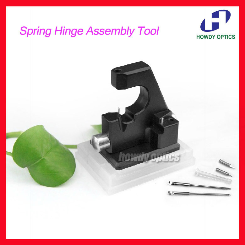 Free Shipping T03F Glasses Spring Hinge Assembly Tool Eyewear Repairing Tool Set
