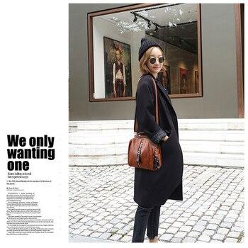 Glorria Luxury Cow Leather Handbags Women Bags Designer Fashion Shoulder 8
