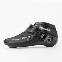 2018 Edition CITYRUN อินไลน์สเก็ตความเร็วด้านบนรองเท้า Champion ซิปล็อคคาร์บอนไฟเบอร์แข่งการแข่งขัน EUR 30 ถึง 45 18 CT