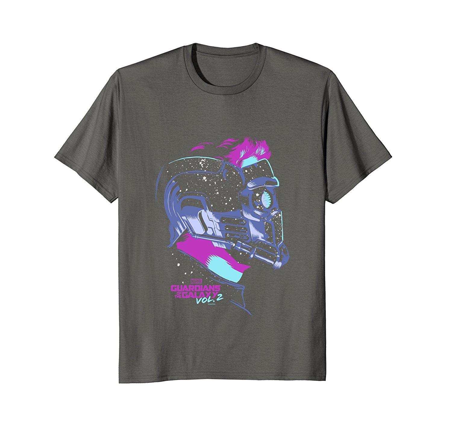 Marvel Guardians Vol.2 Star-Lord Neon Pop Graphic T-Shirt