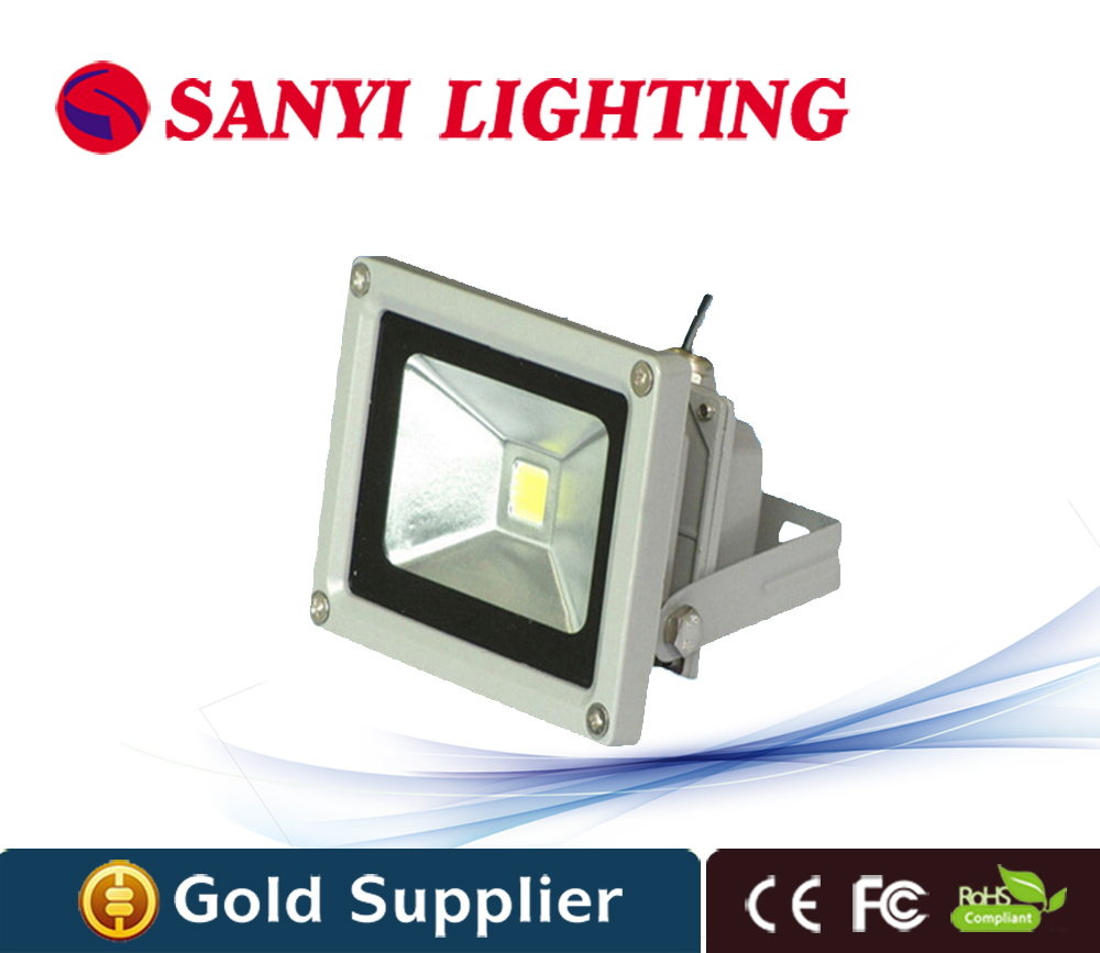 10pcs lot ultrathin 10w font b LED b font floodlight ultra thin advertising Floodlight IP66 Outdoor
