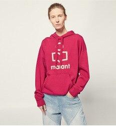 2019 herfst en winter nieuwe mode brief afdrukken vrouwen oversize3d hooded hoodies
