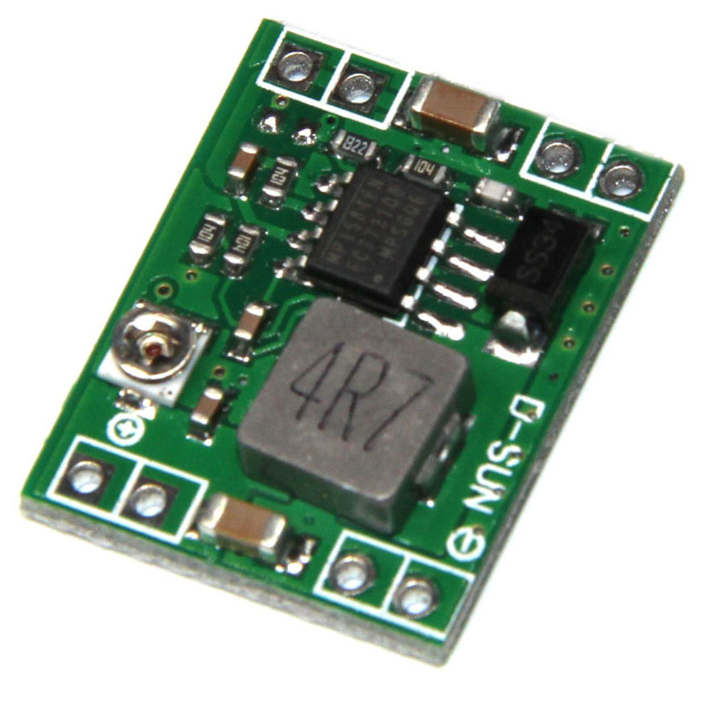 купить 10pcs/lot Ultra-small power supply module DC / DC BUCK 3A MP1584 adjustable buck module regulator ultra LM2596S недорого