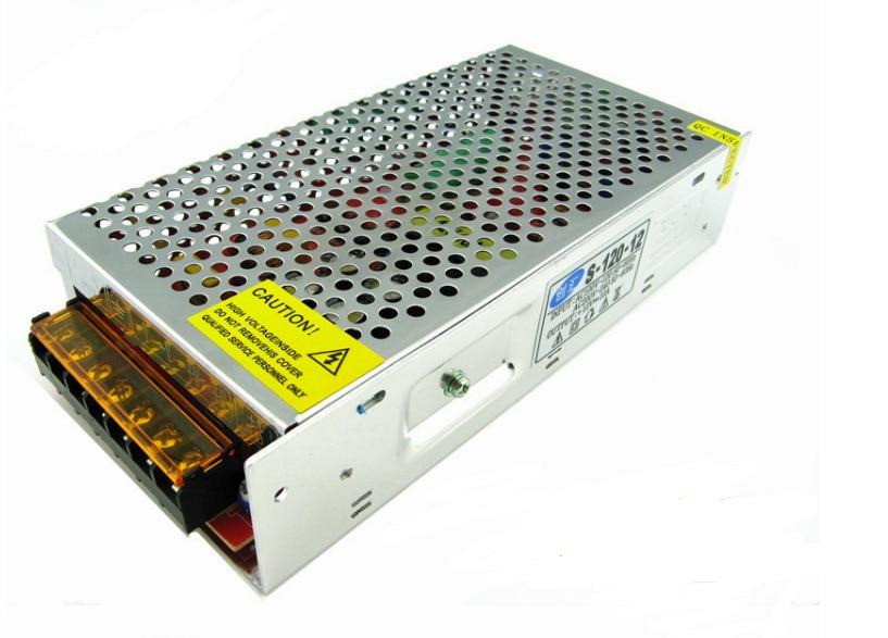AC / DC 100V - 240V PWM 120W 12V 10A Single Output Switching Switch LED driver Transformer Power Adapter Supply мультиметр uyigao ac dc ua18