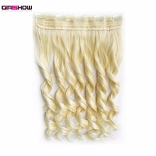 Girlshow 5 Clips In on Synthetic Hair Extensions Wavy Lady