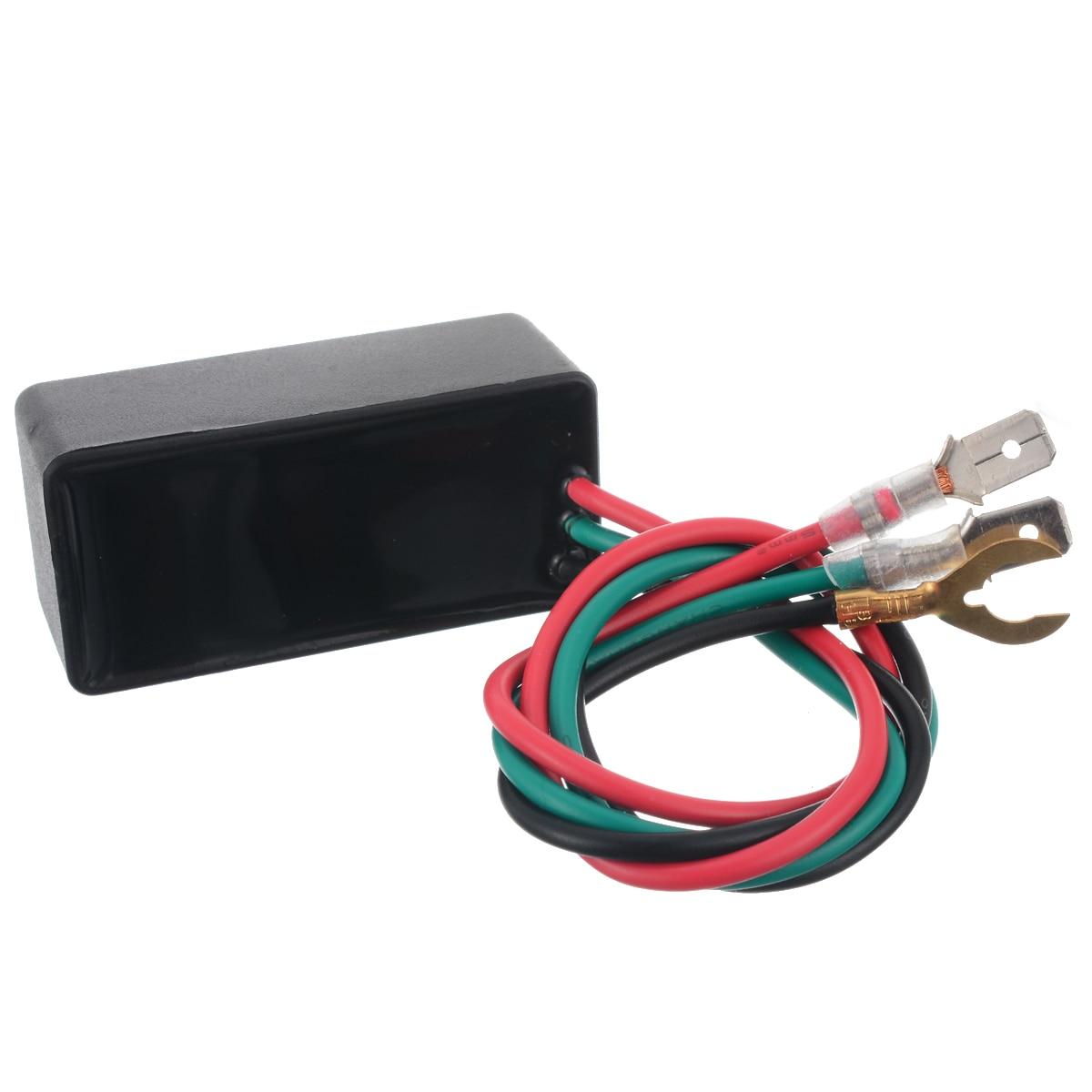 1PC 3Pin 12V Motorcycle LED Blinker Flasher Relay Turn Signal Light DOP-3X Flash Relay For Car/Motorbike Halogen/LED Lamp
