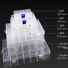 Бусины коробка бусина-пуговица контейнер для хранения Хрустальная коробка Алмазная коробка для хранения крючком чаша Стразы лоток