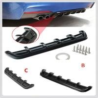 ABS Auto Hinten Shark Fin Stil Gebogene Lip Diffusor für Skoda Opel DAF RAM Lkw Paccar Ford Otosan Chrysler-in Stoßstangen aus Kraftfahrzeuge und Motorräder bei