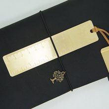 Hot-sale Copper Metal Bookmark CM&Inch Dual Scales 12cm custom engrave free with your company name/design/logo 30pcs a lot