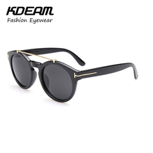 2018 NEW Fashion TOM Designer HOT sunglasses for men and women Glasses big size Round eyeglasses With Accessories Kdeam