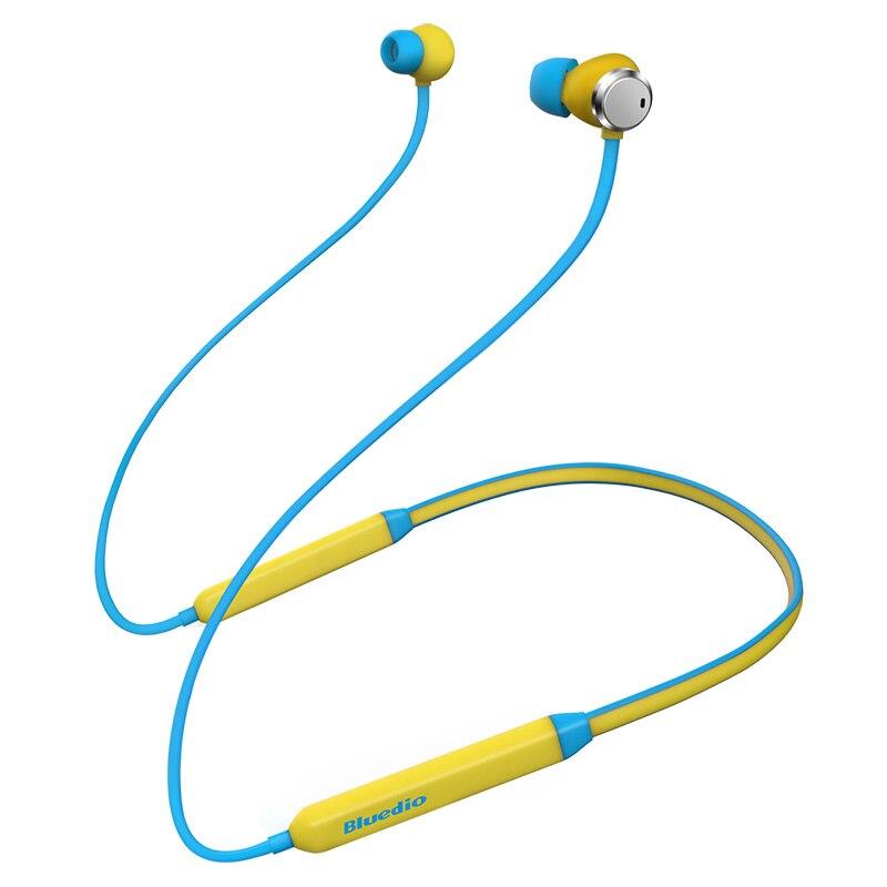 Bluedio TN Drahtlose Bluetooth kopfhörer Active Noise Cancelling Nackenbügel BT4.2 Sport Kopfhörer mit leistungsstarke bass für musik