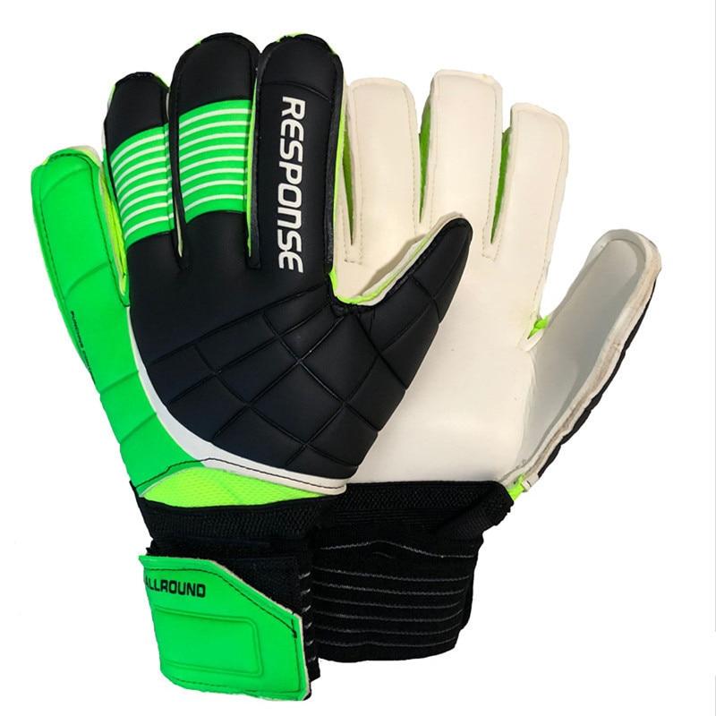 Apprehensive The New Goalkeeper Gloves Latex Soccer Football Latex Professional Football Gloves New Soccer Ball Gloves Regular Tea Drinking Improves Your Health