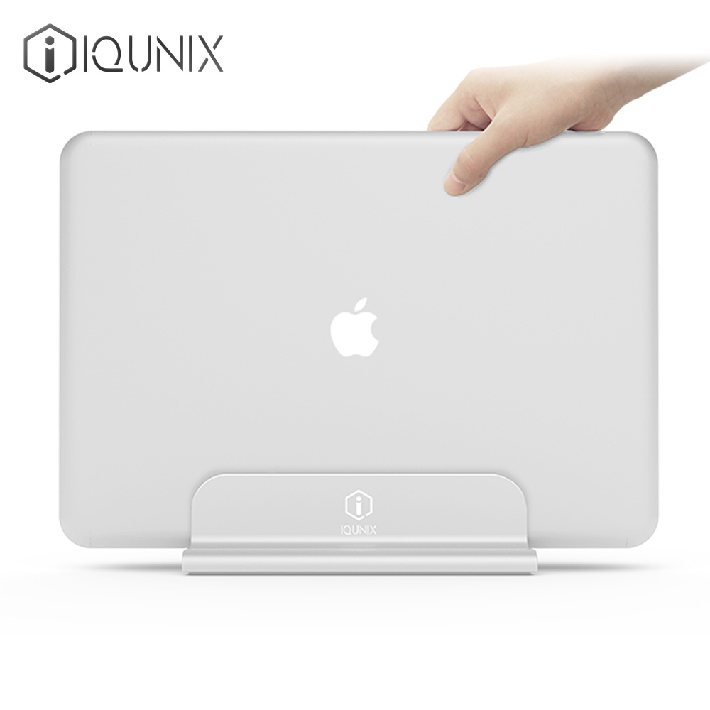Free shipping iQunix Edin Aluminum For MacBook Laptop Vertical Stand For MacBook Base Cooling Holder original naza gps for naza m v2 flight controller with antenna stand holder free shipping