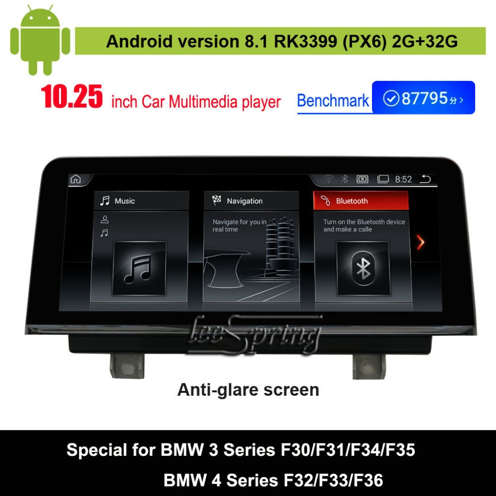 Android 8.1 Car Audio Vdieo Player for BMW 3 Series F30/F31/F34/F35(2013-2016)/ for BMW 4 Series F32/F33/F36(2013-2016)Android 8.1 Car Audio Vdieo Player for BMW 3 Series F30/F31/F34/F35(2013-2016)/ for BMW 4 Series F32/F33/F36(2013-2016)