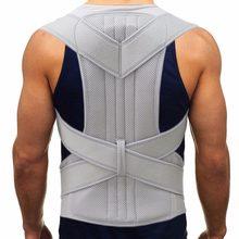 Ceinture de soutien pour le dos et les épaules, Corset pour le soulagement de la douleur dans le haut du dos, correcteur de Posture, ceinture pour la colonne cervicale