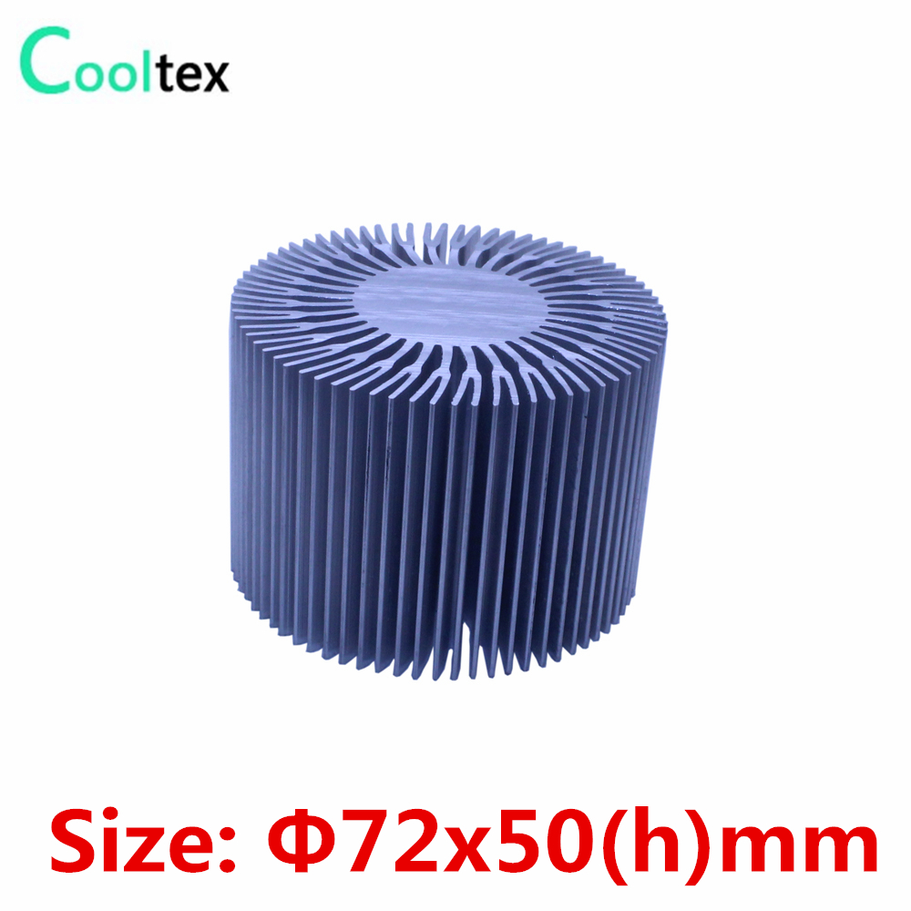 100% new 72x50(h)mm LED heatsink heat sink radiator for LED cooling cooler computer cooler radiator with heatsink heatpipe cooling fan for hd6970 hd6950 grahics card vga cooler