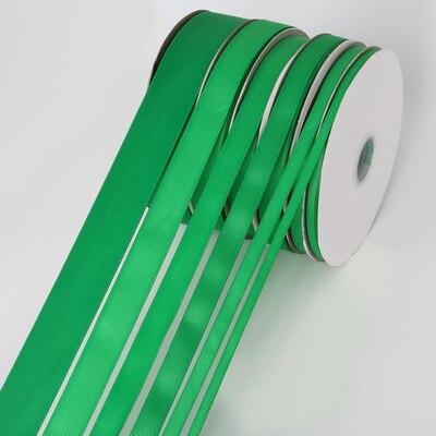 5 ярдов/рулон корсажные атласные ленты для свадьбы, украшения для рождественской вечеринки, самодельные ленты для поделок, открыток, подарочных упаковочных принадлежностей - Color: Green