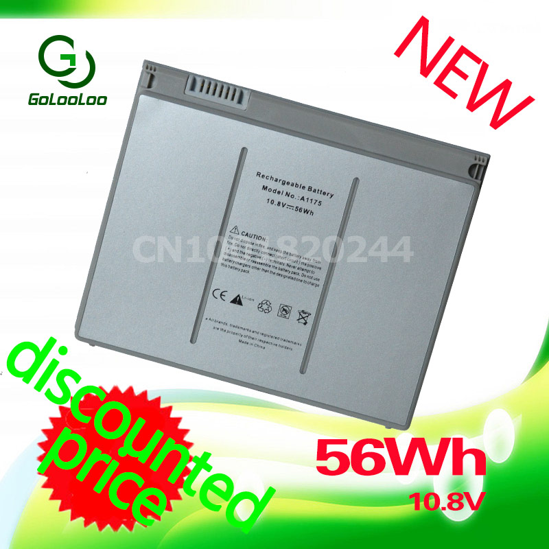 Golooloo A1175 Battery For Apple MacBook Pro 15 A1150 A1211 A1260 MA463 MA600 MA601 MA609 MA348 MA610 MA895 MA896 MB133 MA464 a1175 ma348 original laptop battery for apple macbook pro 15 a1150 a1211 a1226 a1260 ma463 ma464 ma600 ma601