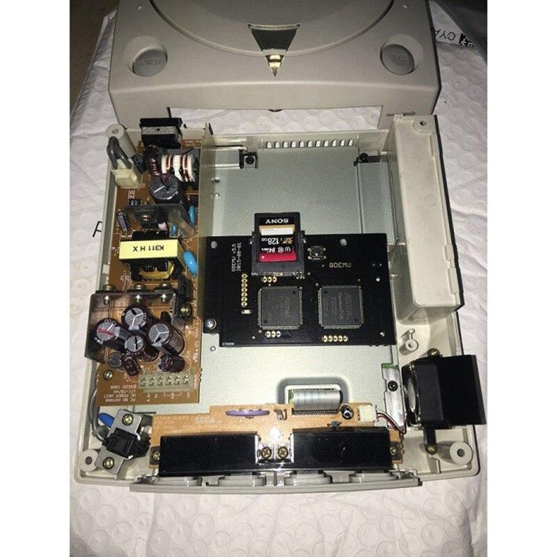 Remplacement de disque libre intégré pour la nouvelle carte de Simulation de lecteur optique GDEMU complète pour la Machine de jeu DC de la deuxième génération - 3