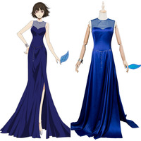 Persona 5 P5 Makoto Niijima Cosplay Costume Masquerade Party Dress Gown Halloween Party Cosplay Costumes