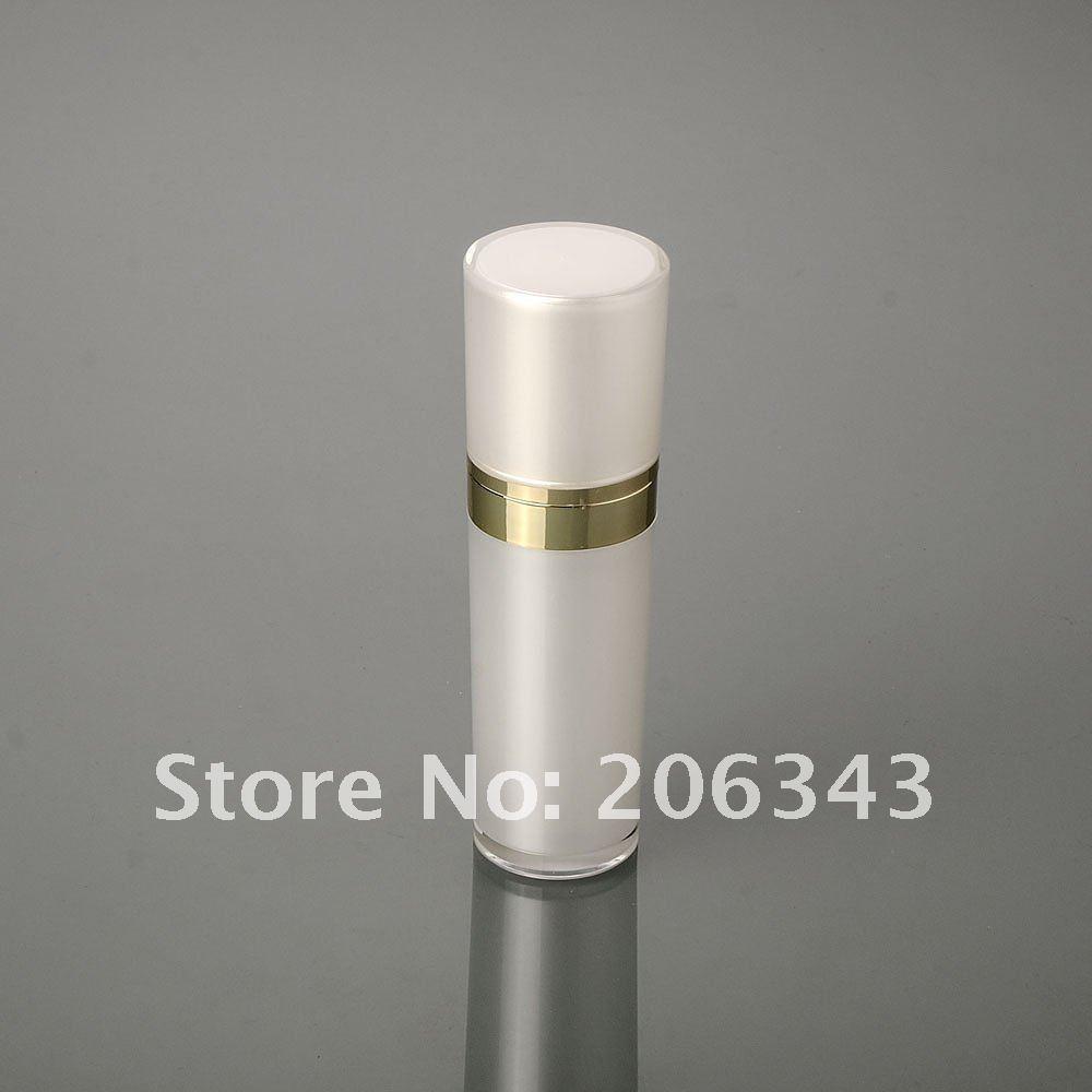 30ML pirni valge akrüül koonuse kujuga presspumba vedeliku pudel, - Nahahooldusvahend