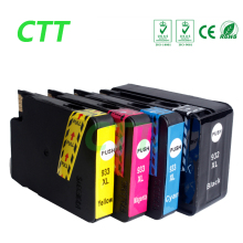 4 pcs Full ink Compatible for HP 932 933 Ink Cartridges 932XL 933XL for hp OfficeJet 6100 6600 6700 7110 7610 7612  With chips