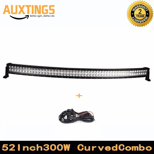 Usa stockfree shipping curved 52 inch led light bar 300w combo usa stockfree shipping curved 52 inch led light bar 300w combo beam 52 aloadofball Choice Image
