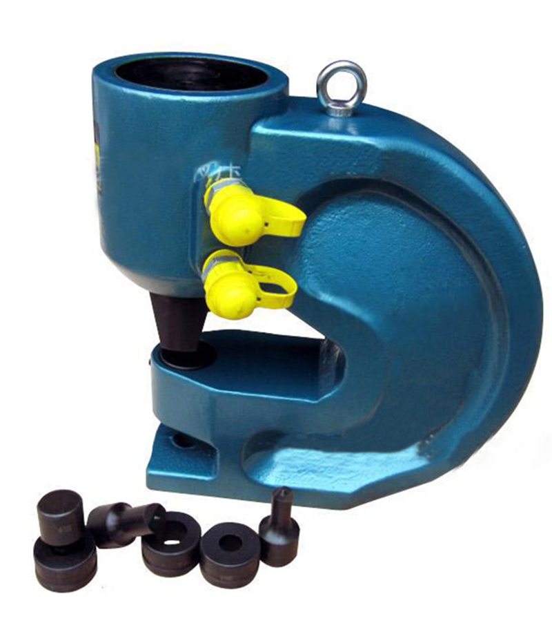 Free shipping by DHL Hight quality Hydraulic punch tool CH-80 hydraulic knockout tool hydraulic hole macking tool hydraulic punch tool syk 15 with the die range from 63mm to 114mm