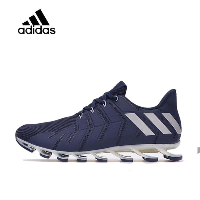 Adidas Original Springblade Pro Personality Men Running Shoes Comfortable Damping Sports Shoes Outdoor Sports Shoes B49441 adidas original new arrival 2017 authentic springblade pro m men s running shoes sneakers b49441