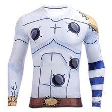 New 2016 Men Classic Saiyan Goku Dragon Ball Naruto Z Super Vegeta 3D T shirt Tight Long Sleeve T-shirt Tees Tops Tshirt Homme