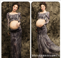 1 set Elegant Pregnant dress Maternity Photography Dress Pregnant Photography Props Fancy Pregnancy Photo Shoot Free Shipping