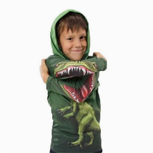 Halloween Carnaval Cartoon Mascotte Kostuum Chase the child dinosaur costume Explosions Variety dinosaur sweater zipper shirt