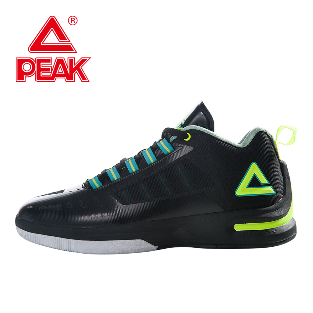 PEAK Basketball Shoes Men Professional Training Players Easy Move Cushion-3 FOOTHOLD Tech Breathable  Ankle Boots Basket Sports peak sport lightning ii men authent basketball shoes competitions athletic boots foothold cushion 3 tech sneakers eur 40 50