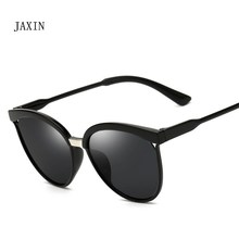 JAXIN Fashion new cat eye Sunglasses Women retro trend versatile coated Sun Glasses Ms brand design classic cute goggles UV400