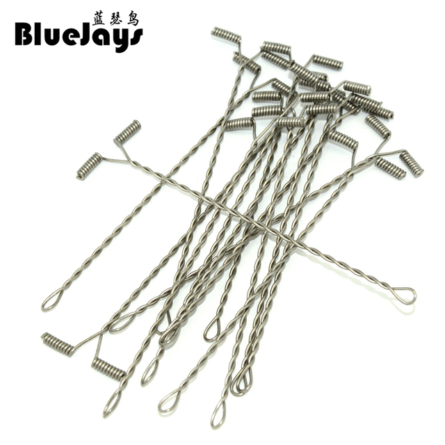 Best Offers BlueJays 50pcs/lot Lure Balance use For Steel wire Fishing line DIY 5cm-20cm T-shape Fishing Accessories Connector free shipping