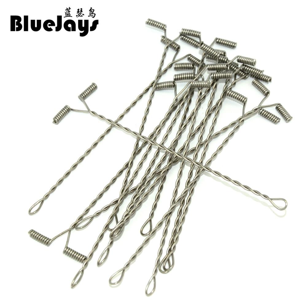 BlueJays 50pcs lot Lure Balance use For Steel wire font b Fishing b font font b