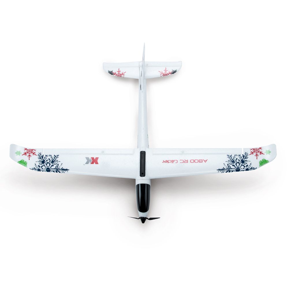 Remote Controller 3D 6G Mode 2 4GHz Fly Wing Kids Glider DIY 780mm Wingspan White Educational