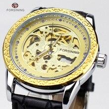 2016 Relojes Para Hombre Superior Brancd Mecánico de Acero Inoxidable Relojes de Pulsera de Lujo Royal Style Masculino Correa de Reloj de Cuero de Vestir de Negocios