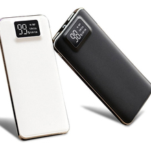 Hot LCD 30000mAh Power Bank Portable Charging Powerbank Slim