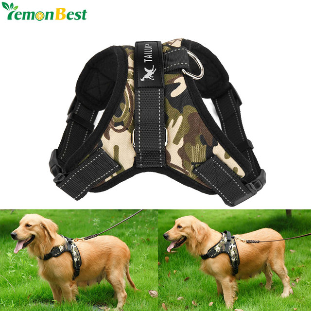 Pet Supplies Large Dog Harness Collar Soft Adjustable Harness Vest Dog Chest Strap For Medium Large_640x640 pet supplies large dog harness collar soft adjustable harness vest