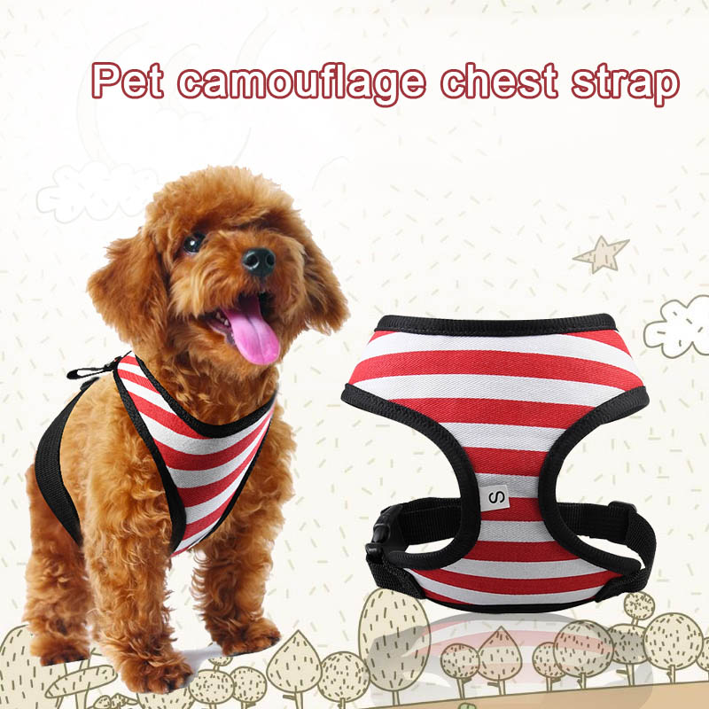 Strap Breathable Fashion Protective Traction Rope Pet Dog Puppy Vest Leash Lead Chest Hot Sale