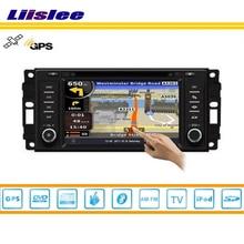 Liislee For Dodge Durango 2008~2010 Car DVD Player GPS Navi Navigation Radio TV iPod BT 3G WIFI HD Screen S160 Multimedia System