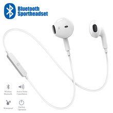 цена на 20 PCS Sport In-Ear Neckband Wireless Headphone Bluetooth V4.1 Earphone With Mic Stereo Earbuds Headset For iPhone Xiaomi Huawei