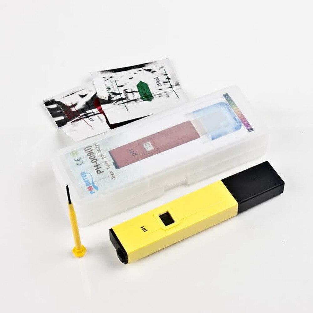 1Pc Pocket Pen Water PH Meter Digital Tester PH-009 IA 0.0-14.0pH for Aquarium Pool Water Laboratory  цены